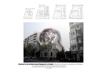 Extension for the Architects Board Headquarters in Cordoba-Extensión del colegio de arquitectos de Córdoba-