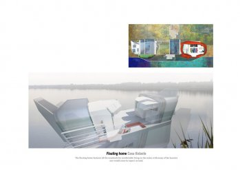 Floating home-Casa flotante. Competition Shortlisted