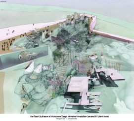 New Taipei City Museum of Art conceptual Design International Competition.Merit Award
