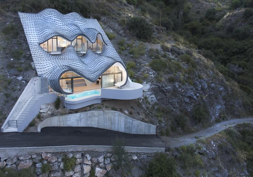GilBartolome Casa acantilado