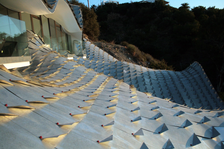 House On The Cliff In The Coast Of Granada Spain Gilbartolome