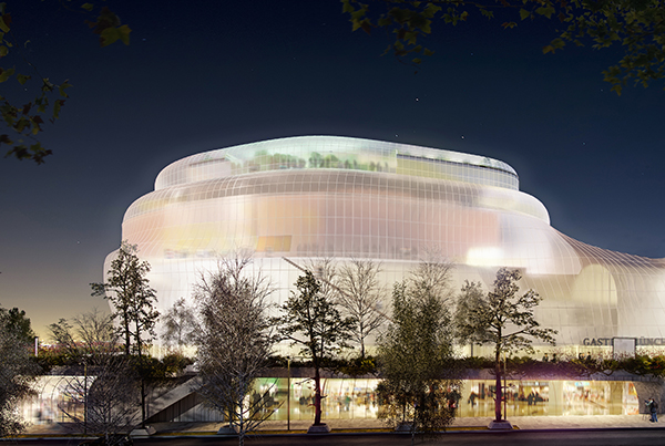 The Gasteig. Munich Philarmonic Orchestra and cultural centre renovation